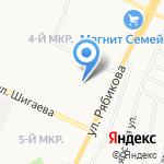 Салон оптики на карте Ульяновска