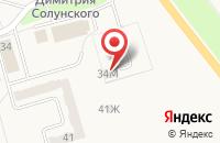 Схема проезда до компании Текстиль-Софья в Ишеевке