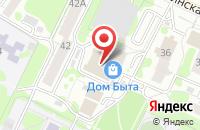 Схема проезда до компании Ульяновская служба недвижимости в Ульяновске