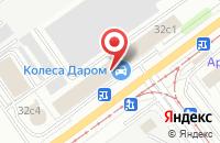 Схема проезда до компании Формат в Ульяновске