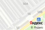 Схема проезда до компании ИнтерАвто в Ульяновске