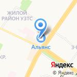 Магазин обуви на карте Ульяновска