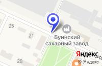 Схема проезда до компании ПРОДОВОЛЬСТВЕННЫЙ МАГАЗИН У ПЕРЕКРЕСТКА в Буинске