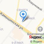 Магазин детских товаров на карте Ульяновска