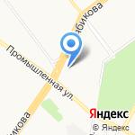 Медиа-Лэнд на карте Ульяновска