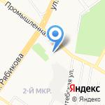 Магазин товаров для сада на карте Ульяновска