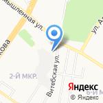 Сладкая избушка на карте Ульяновска