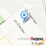 Городская поликлиника №4 на карте Ульяновска