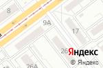 Схема проезда до компании Qiwi в Ульяновске