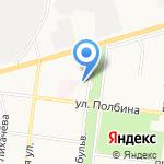 Магазин колбасных изделий на карте Ульяновска