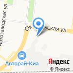 Автомаркет на карте Ульяновска