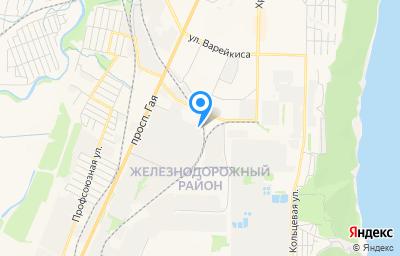 Местоположение на карте пункта техосмотра по адресу г Ульяновск, ул Автомобилистов, д 14