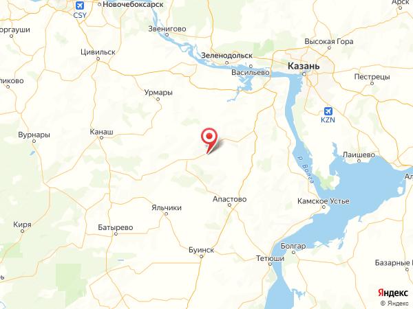 село Мурали на карте