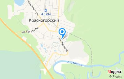 Местоположение на карте пункта техосмотра по адресу Респ Марий Эл, Звениговский р-н, пгт Красногорский, ул Рабочая, д 30