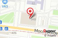 Схема проезда до компании Магнит в Ульяновске