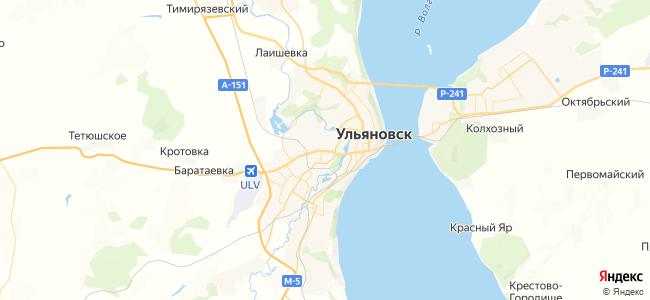 41 автобус в Ульяновске