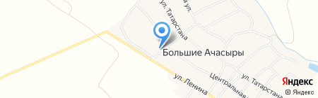 Продуктовый магазин на карте Больших Ачасыров