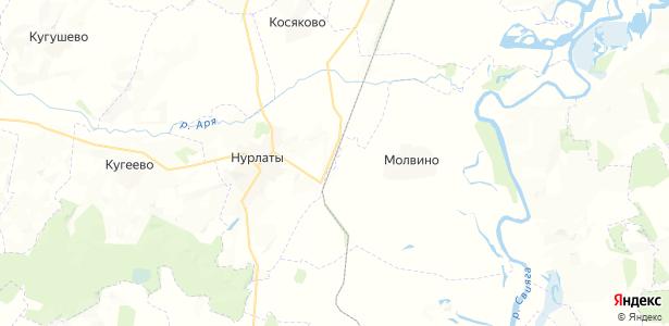 Албаба на карте