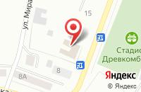 Схема проезда до компании Пионер в Волжске