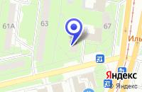 Схема проезда до компании ФИЛИАЛ №5 ЗАСВИЯЖСКОГО РАЙОНА УЛЬЯНОВСКОЙ ОБЛАСТНОЙ КОЛЛЕГИИ АДВОКАТОВ в Ульяновске