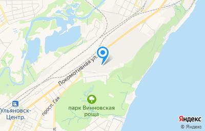Местоположение на карте пункта техосмотра по адресу г Ульяновск, ул Первомайская, д 44