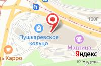 Схема проезда до компании Спортмастер в Ульяновске