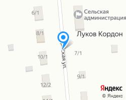 Схема местоположения почтового отделения 413384