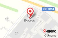 Схема проезда до компании Глобус в Новоульяновске