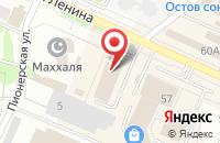 Схема проезда до компании Золотая рыбка в Волжске