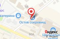 Схема проезда до компании Башмачок в Волжске