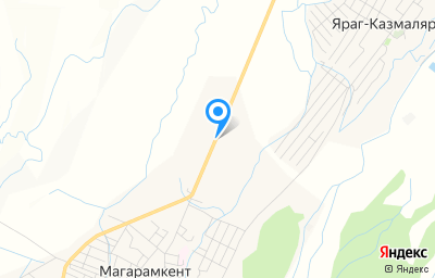 Местоположение на карте пункта техосмотра по адресу Респ Дагестан, с Магарамкент