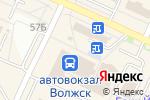 Схема проезда до компании Компьютерный доктор в Волжске