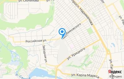 Местоположение на карте пункта техосмотра по адресу г Ульяновск, ул Маяковского, д 55/11