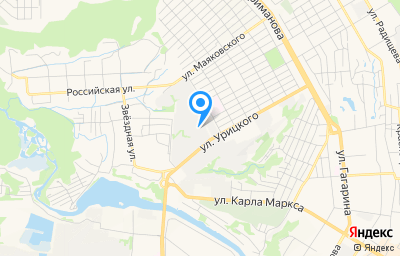 Местоположение на карте пункта техосмотра по адресу г Ульяновск, ул Энтузиастов, д 1А
