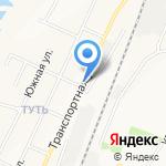 Кристи на карте Ульяновска