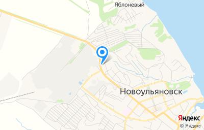 Местоположение на карте пункта техосмотра по адресу Ульяновская обл, г Новоульяновск, проезд Промышленный, д 4А