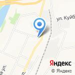 М`Адель на карте Ульяновска