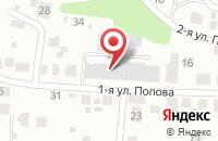 Схема проезда до компании Бюро актуальных вакансий в Ульяновске