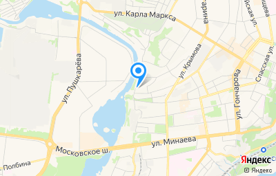 Местоположение на карте пункта техосмотра по адресу г Ульяновск, ул Набережная реки Свияги, д 154
