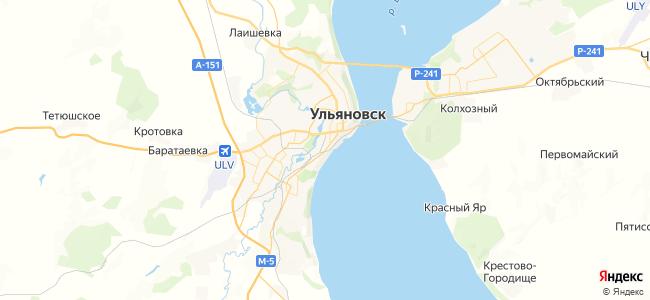 55 маршрутка в Новоульяновске