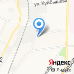 Полис на карте Ульяновска