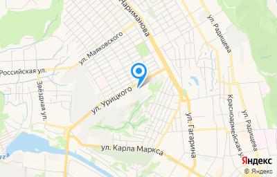 Местоположение на карте пункта техосмотра по адресу г Ульяновск, ул Урицкого, д 23А