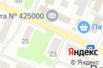 Схема проезда до компании Йола в Волжске