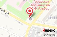 Схема проезда до компании ВТБ Медицинское страхование в Новоульяновске