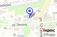 Схема проезда до компании РЕДАКЦИЯ ЕЖЕНЕДЕЛЬНИКА ЦЕНЫ в Ульяновске