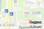Схема проезда до компании АртСелл в Ульяновске
