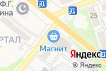 Схема проезда до компании Магнит в Новоульяновске