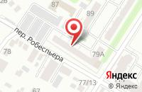 Схема проезда до компании Ассоциация Коммуникационных Агентств Ульяновской Области в Ульяновске