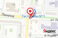 Схема проезда до компании ПИВНОВЪ в Волжске