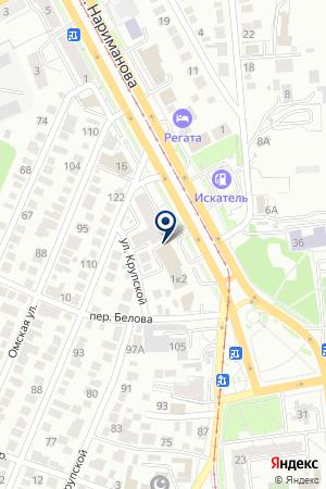 Билет Сервис на карте Ульяновска